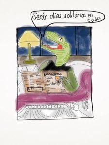 dinosaurio en cama de noche