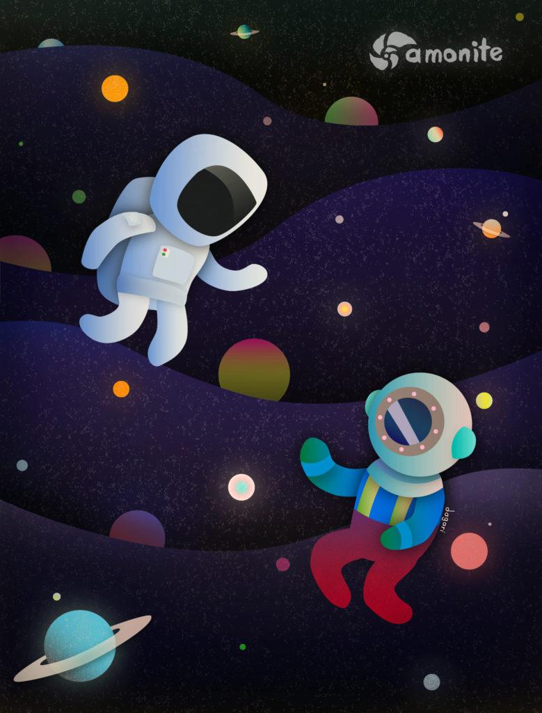 ilustraciones luna navegantes