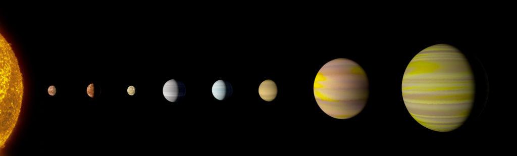 Kepler-90 sistema solar